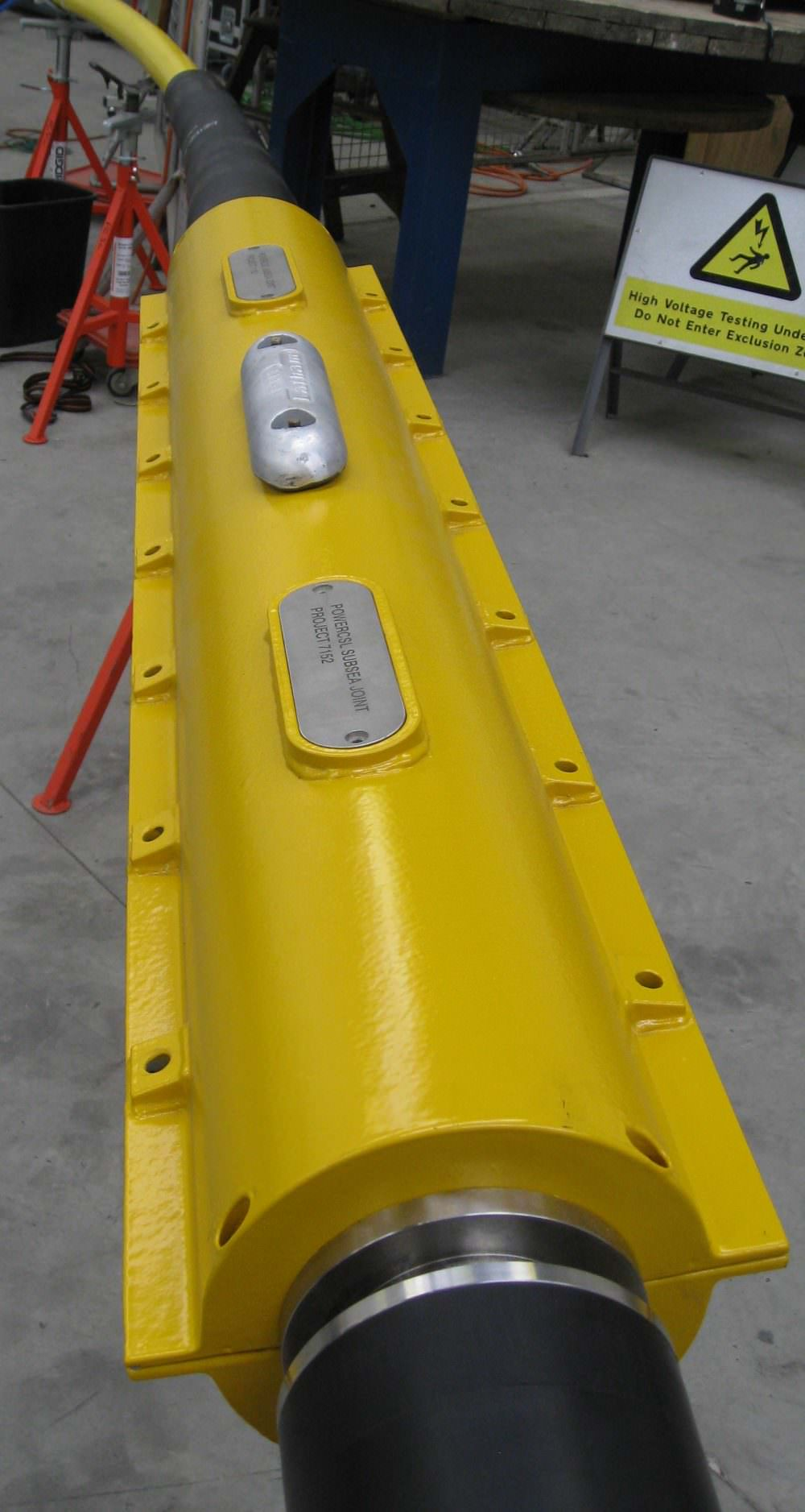 Mv Subsea Cable Repair Joint Power Csl